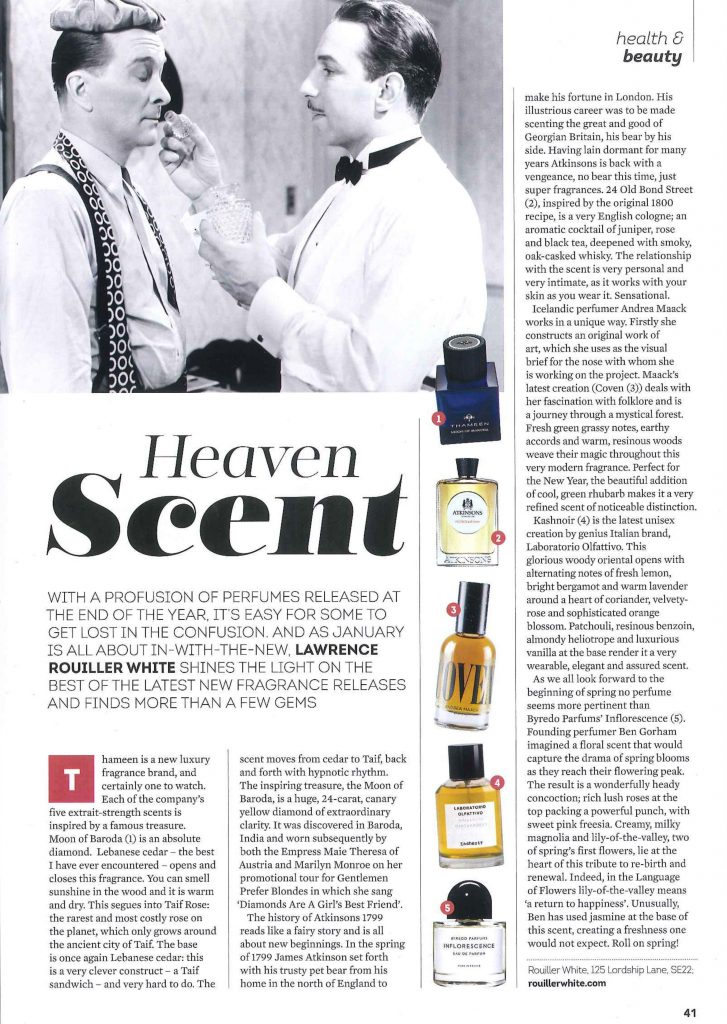Thameen Fragrance Absolutely Dulwich feature